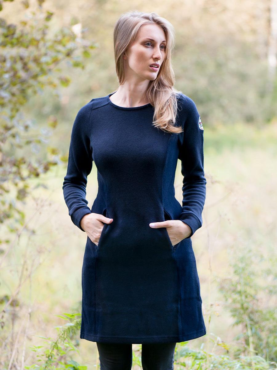 Bergans платье Kollen Wool Lady Dress Navy