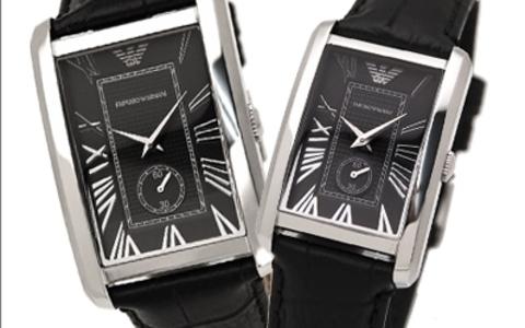 Купить Парные часы Armani Classic: AR1604 и AR1636 по доступной цене