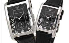 Парные часы Armani Classic: AR1604 и AR1636