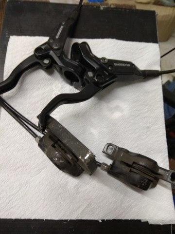 Shimano 447  со Scott Voltage FR 20 купить дешево в Москве
