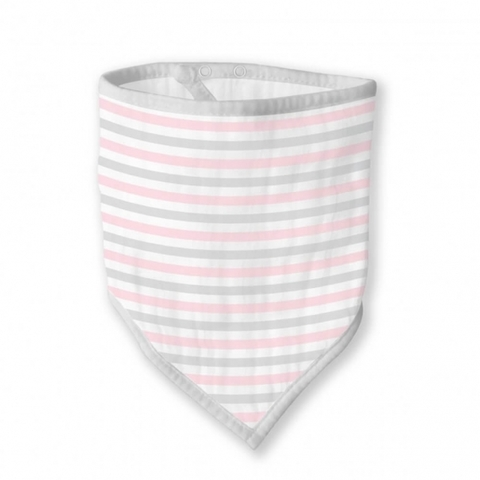 Бандана-нагрудник Marquisette Pink Simple Stripes