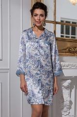 Рубашка халатик женский шелковый MIA-Amore  Дольче Вита  5917