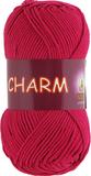 Пряжа Vita Charm красная ягода 4192