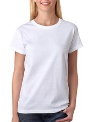 GF1001 футболка женская, белая
