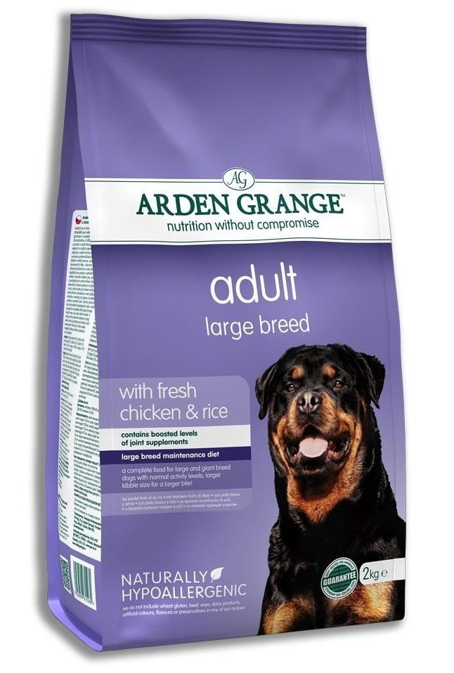Хиты продаж Сухой корм для взрослых собак крупных пород, Arden Grange Adult Large Breed AG615280.jpg