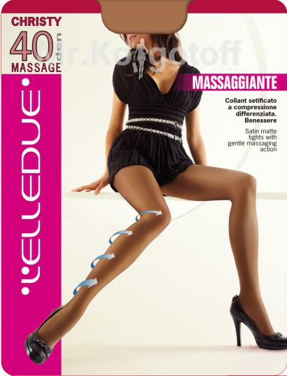 Колготки L'Elledue Christy Massage 40