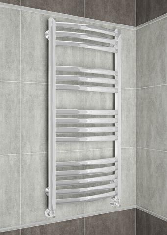 Palermo White  - белый дизайн полотенцесушитель