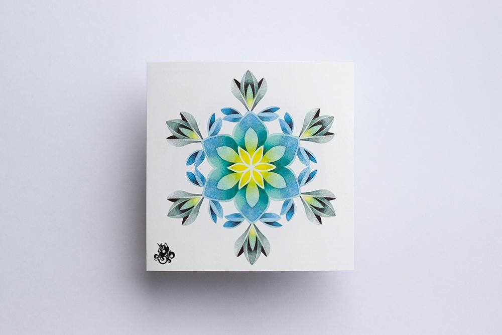 Переводная татуировка Snowflake