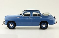 GAZ-M20 Pobeda cabriolet blue 1:24 Legendary Soviet cars Hachette #27
