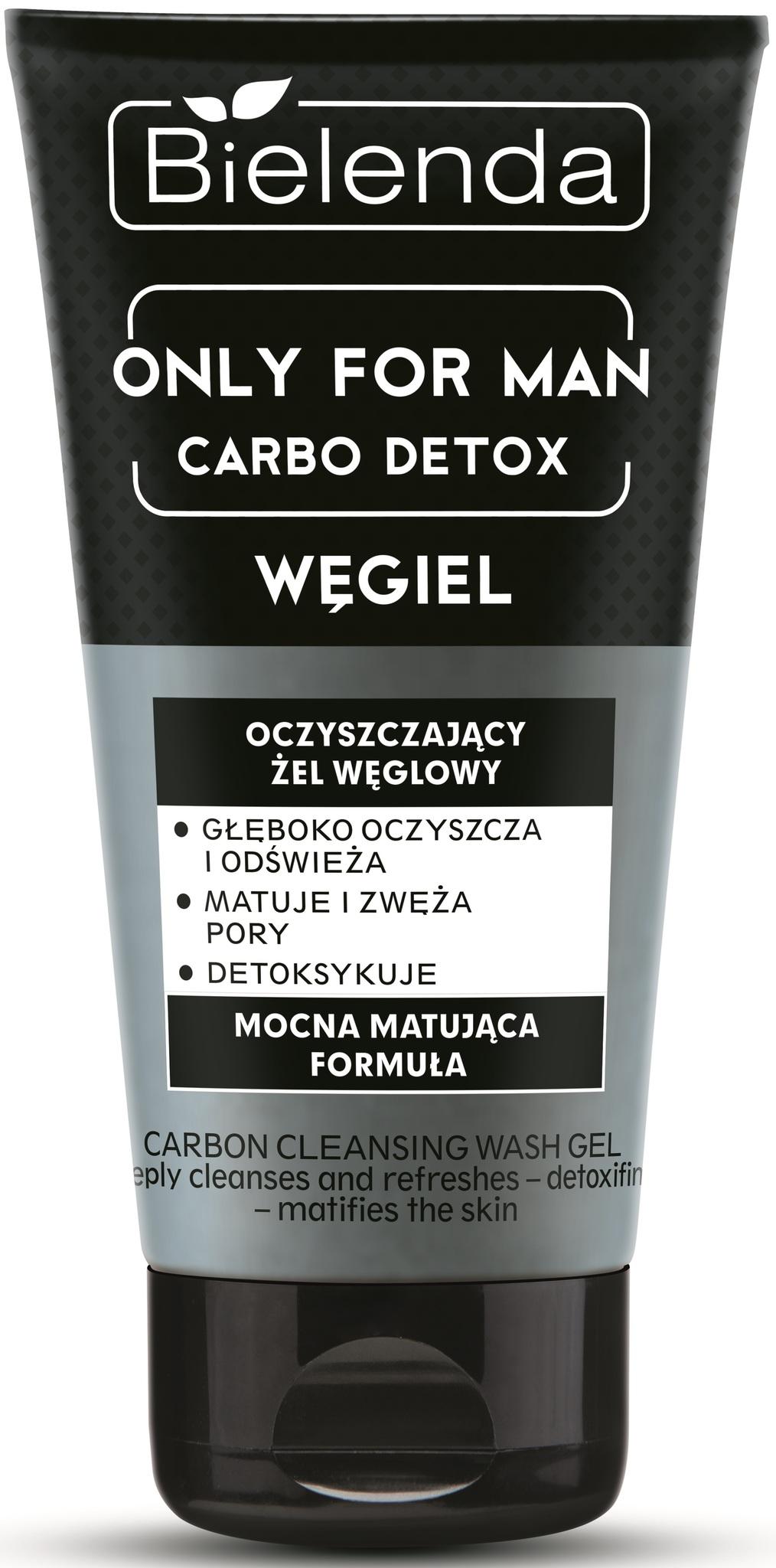 BIELENDA OFM - CARBO DETOX - Очищающий гель для умывания лица 150мл