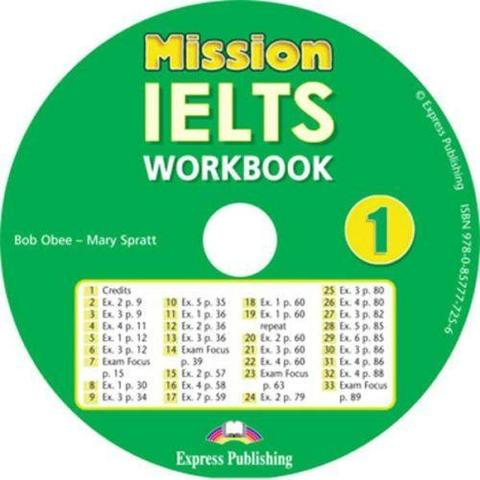 Mission IELTS 1. Workbook Audio CD. Аудио CD