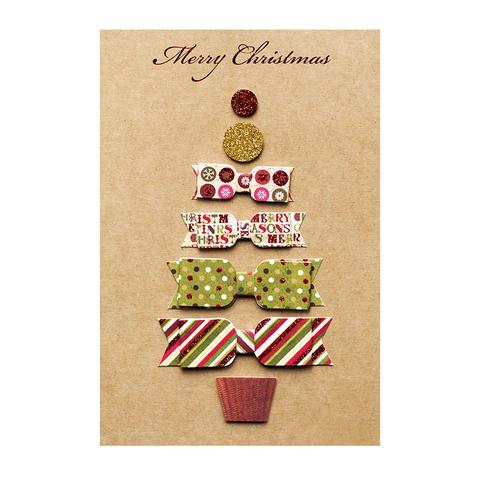 Открытка Merry Christmas Bows