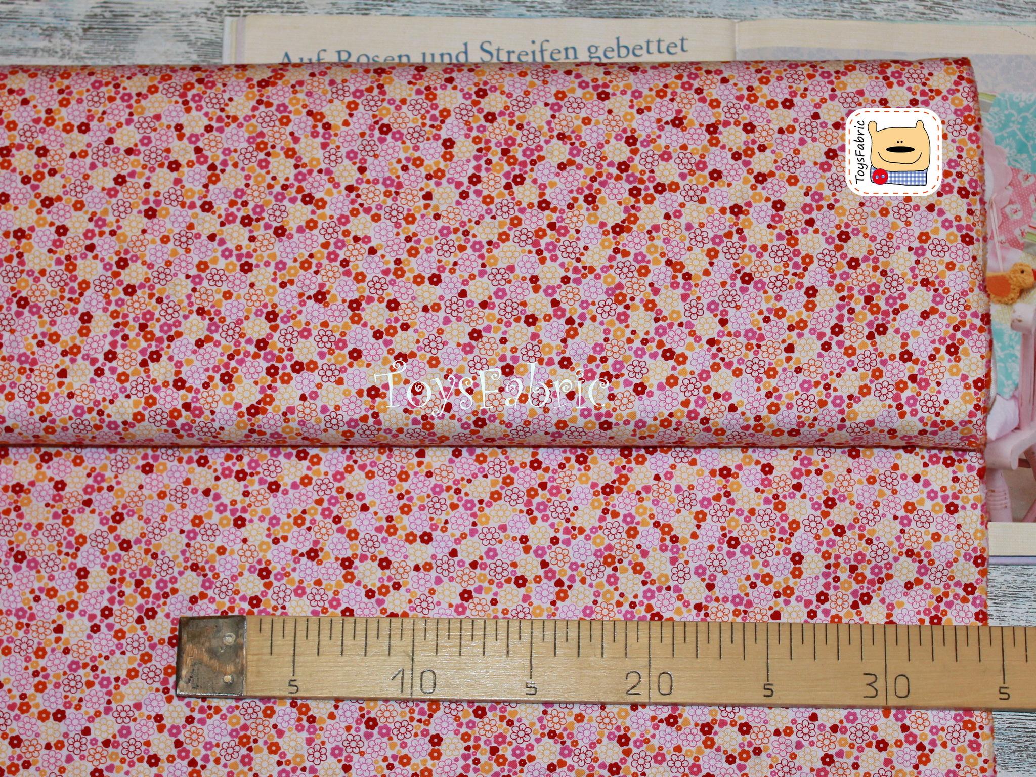 Ткань для пэчворка 20615 (мелкие цветочки) 45х55см
