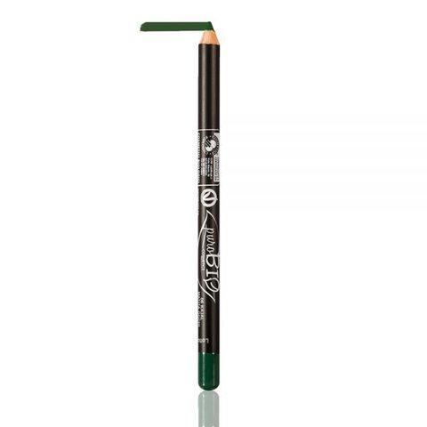 Карандаш для глаз PuroBio тон 06 бутылочный зеленый, 1,3 гр