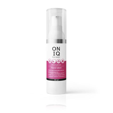 ONIQ Лосьон для рук с ароматом граната и крыжовника, 30 мл
