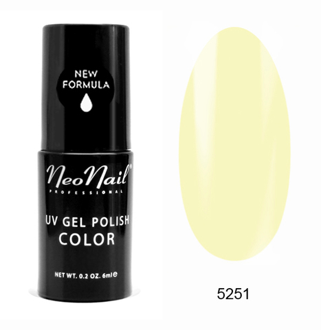 NeoNail Гель лак UV 6ml Banana Smoothie №5251-1