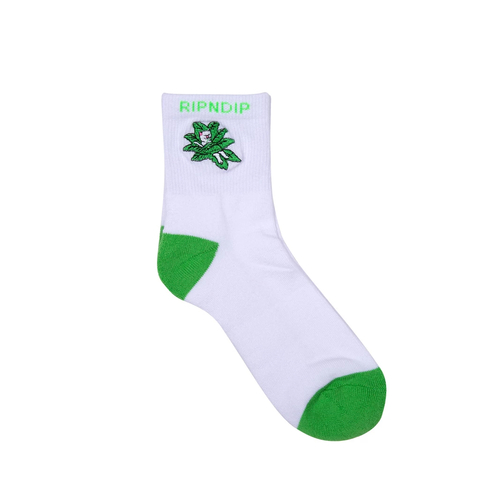 Носки RIPNDIP Tucked In (White/Green)