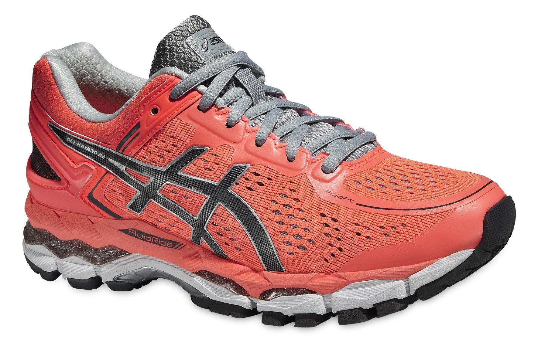 Женские кроссовки для бега Asics Gel-Kayano 22 (T597N 0697) оранжевые