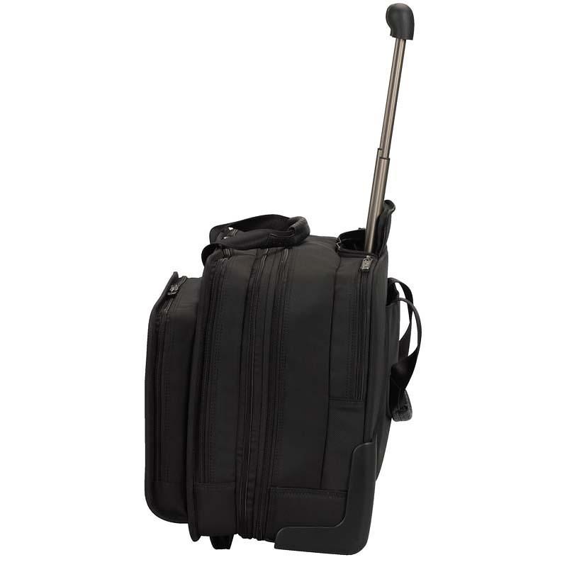 Сумка на колесах Victorinox Rolling Parliament 17'', чёрный, 43x26x36 см, 20 л
