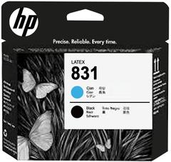 Печатающая головка HP 831 (синий/черный), CZ677A