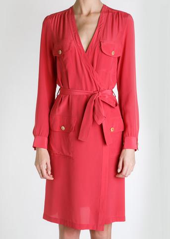 Платье из шелка JO NO FUI