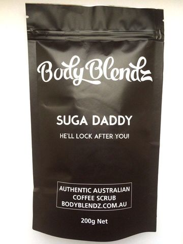 Кофейный скраб для тела Body Blendz Suga Daddy оптом