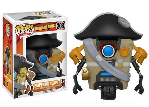 Фигурка Funko POP! Vinyl: Games: Borderlands: Emperor Claptrap 14317