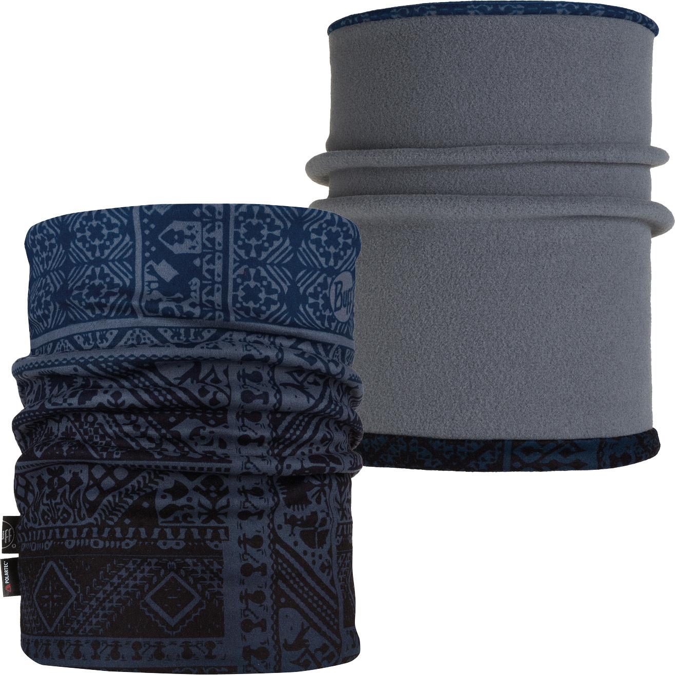 Двойной флисовый шарф-труба Buff Eskor Perfuse Blue