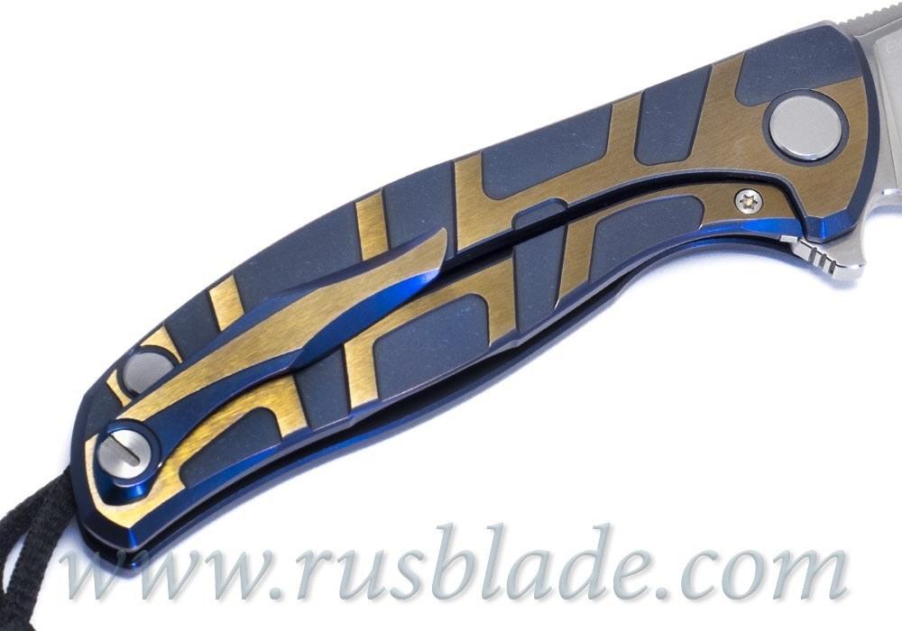 CUSTOM Shirogorov Flipper 95 ELMAX T DUO TONE