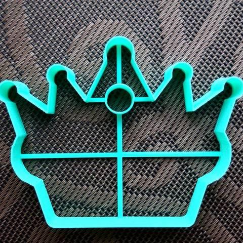 Корона с отверстием