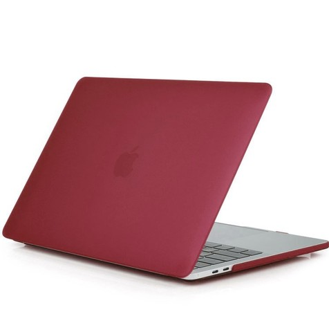 Накладка пластик MacBook Pro 15 Retina /matte wine red/ DDC