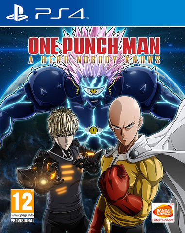 PS4 One Punch Man: A Hero Nobody Knows (русские субтитры)