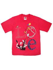 937-8 футболка детская, малиновая