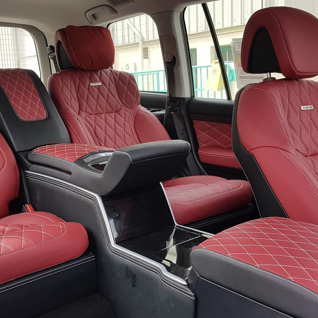 Сиденья MBS Smart Seats для Toyota Land Cruiser 200