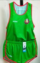 Форма национальная ATEX с гербом РБ легкоатлетическая мужская (2019) ОБРАЗЕЦ