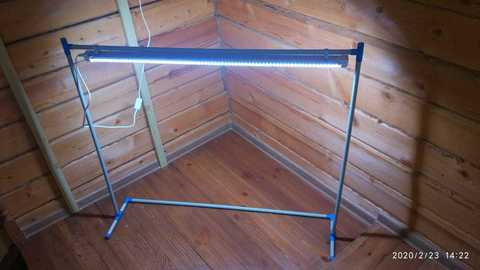 Подставка для фитосветильника 90см
