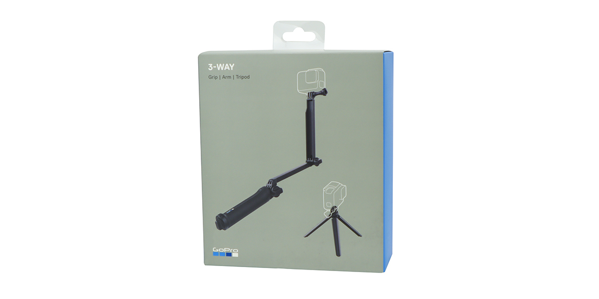 Монопод-штатив GoPro 3-Way Mount - Grip/Arm/Tripod (AFAEM-001) упаковка