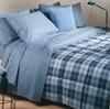 Постельное белье 1.5 спальное Caleffi Atlantic City синее