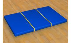 Мат гимнастический складной (1м х 1м)