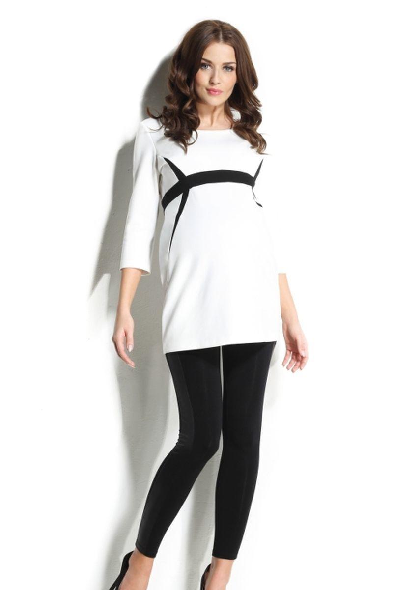 Блузка для беременных 01103 белый