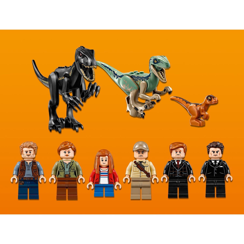 Лего мир юрского периода нападение индораптора в поместье локвуд