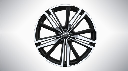 Диск колесный 21x8.5 5-Triple Spoke Matte Black Diamond