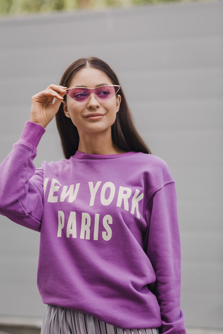 Свитшот NEW YORK PARIS