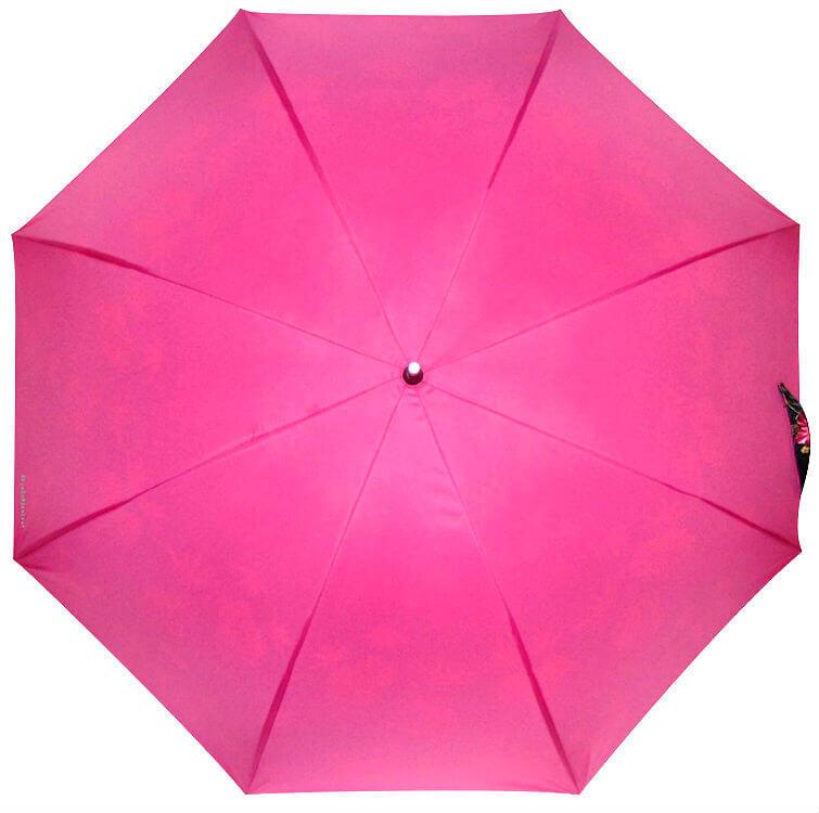 Зонт-трость Baldinini 49-10 Fiori fucsia