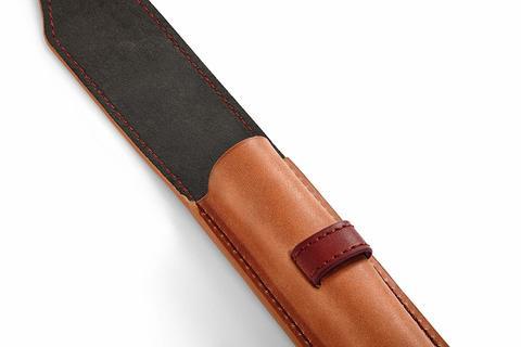 Набор с чехлом из натуральной кожи и Ручка-5й пишущий узел Parker Ingenuity Slim Pearl PGT123