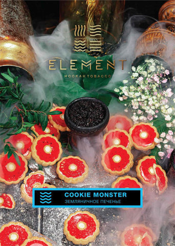 ELEMENT COOKIE MONSTER (ЗЕМЛЯНИЧНОЕ ПЕЧЕНЬЕ) ВОДА 40г