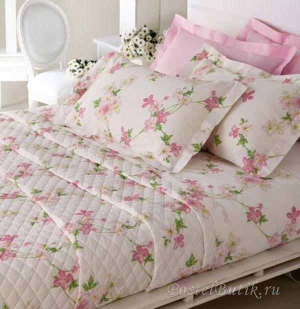 Постельное Постельное белье 2 спальное евро Mirabello Vine Flowers розовое elitnoe-postelnoe-belie-vine-flowers-ot-mirabello.jpg