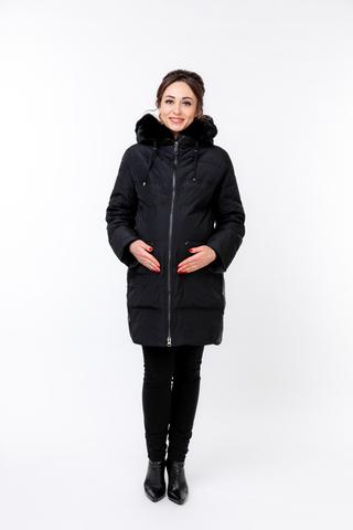 Куртка для беременных 09933 черный