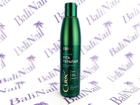 Крем-бальзам для сухих, ослабленных и поврежденных волос CUREX THERAPY