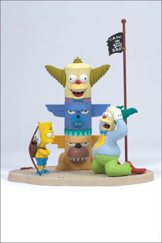 Simpsons Series 1 - KRUSTY AND BART: